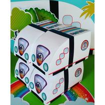 Cajas X 65 Bolsas Golosineras Monoriel Topa Junior Express