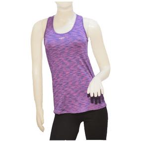 Musculosa Deportiva Fitness Dry Violeta