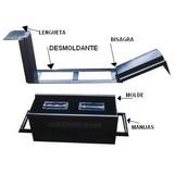 Bloquera Manual, Molde P/bloques De Arena Y Cemento De 20 Cm