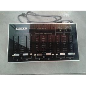 Mezclador De Micrófonos Mx-8 Marca Sony 6 Canales