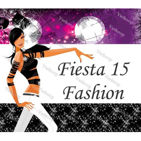 Kit Imprimible 15 Años Fashion Invitaciones Fiesta