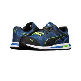 Zapato De Seguridad Ultra Ligero Puma P064 Para Hombre Azul