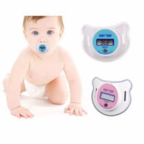 Chupeta Termômetro Digital Infantil Bico Para Bebê Criança