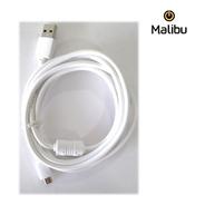 Cable Usb A Micro Usb Con Filtro 2 Metros Malibu