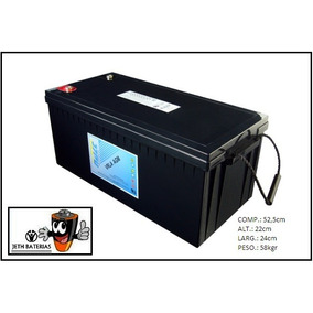 Bateria Estacionaria Haze Power 12v - 200ah