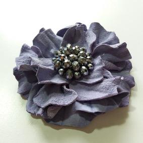 Flor De Cuero Artesanal Para Apliques Calzado Novia