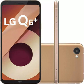 Celular Lg Q6 Plus 64gb Gold Dual Chip Android 7.0 Tela 5.5