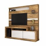 Rack Tv - Home Porto Canela Rustico - Branco, Mueble