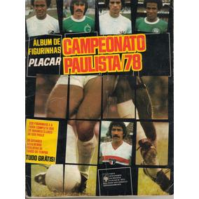 Álbum Digitalizado Campeonato Paulista 1978 - Editora Abril