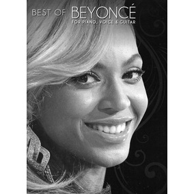 Beyonce - Best Of Piano Partituras
