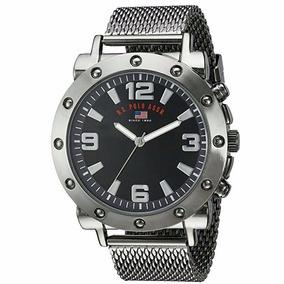 Relógio U.s. Polo Orginal Bracelete Metalico