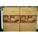 Ovidio Metamorfosi Favole Scelte 2 Tomos Italiano Y Latin