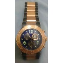 Relogio Invicta 6765 Reserve 18k Rose Gold Foto Real Pr. Ent