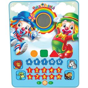 Tablet Infantil Musical Brinquedo Didático Patati Patatá