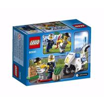 Lego City Crook Pursuit Moto Policia Ladron 60041 Zona Tigre