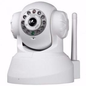 Câmera Ip Wireless Visão Noturna Acesso Internet T36 Branca