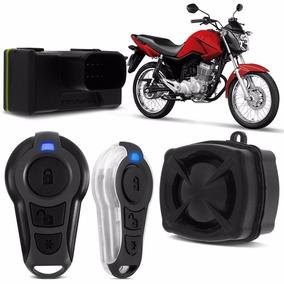 Alarme P Moto Honda Todas Partida Elétrica Cg Yamaha Stetsom
