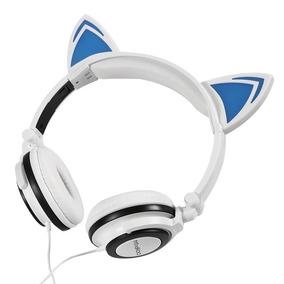 Audifonos Diadema Orejas De Gato Con Luz Led Mindkoo