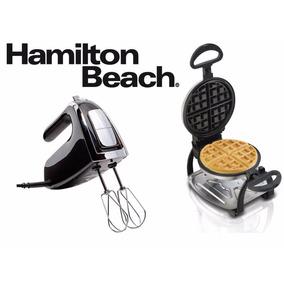 Combo Hamilton Beach Waflera Belga + Batidora