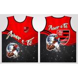 Camiseta Regata São Jorge Guerreiro Flamengo Amor E Fé 7fc2f3faf250b