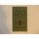 3441- Manual Instruc. Maquina Coser Singer Año 1919