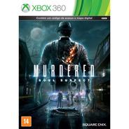 Murdered Soul Suspect Xbox 360 Original Lacrado Mídia Física