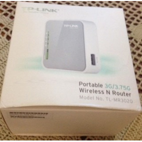Router Tp-link Inalambrico Mod Tl-mr3020 Portable 3g/3.75g
