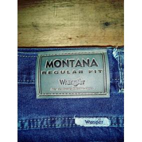 Pantalón Wrangler Montana Fit. Sin Uso.