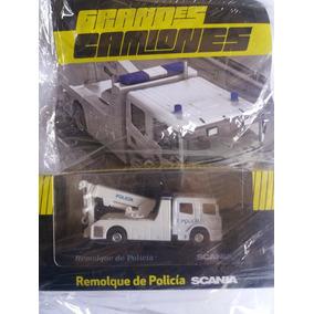Grandes Camiones, Remolque De Policía Scania.