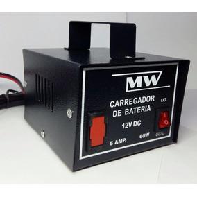 Carregador Bateria Automotivo 12 V 5 Amp Com Transformador