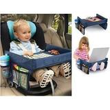 Mesa De Viaje Para Niños Y Bebés En El Auto