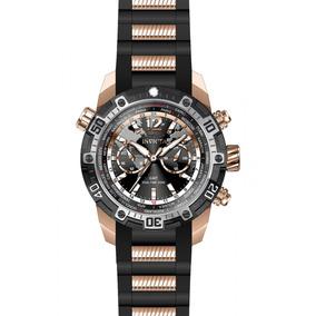 Invicta Hombre 24582 Aviator Reloj Acero Inoxidable Negro