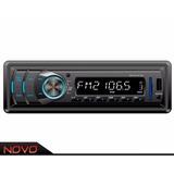 Auto Radio Com Sd E Usb Marca Napoli Modelo 3791