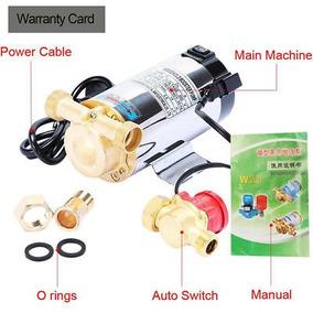 90w Eléctrico Automático Casero Ducha Lavadora Bomba Booster