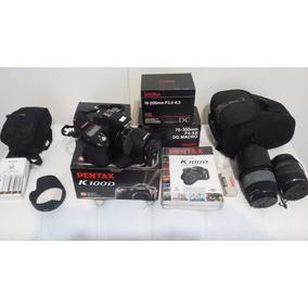 Kit Camara Pentax K1000 D + Lentes + Remote Control F