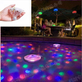 Iluminación Flotante Para Piletas Led - Estilo Disco 5 Modos
