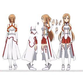 Sword Art Online Disfraz Cosplay Asuna.