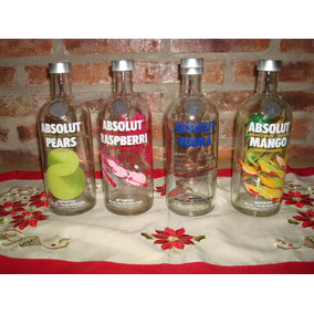 Botellas Absolut Vacias De 750 Ml.