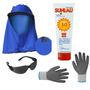 Kit De Proteção Para Pescador - Sol, Roça, Colheita, Pesca