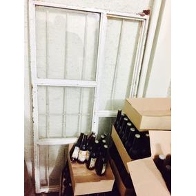 Ventana Usada Con Vidrios Y Protección