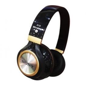 Fone De Ouvido Sony Bluetooth Com Entrada Sd E Radio Fm
