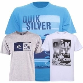 Kit Com 5 Camisas Camisetas Masculina Plus Size Lindas