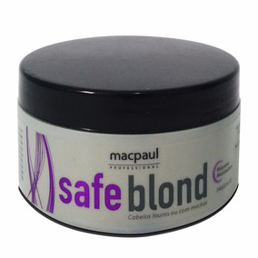 Mac Paul Safe Blond Violeta Máscara Matizadora 240g