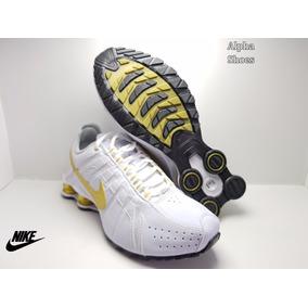 Tênis Nike Shox Junior Couro Garantia Lançamento Novo