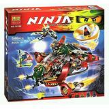 Ninjago Lego Alterno Ronin R.e.x. Fortaleza Aérea Samurai Ni