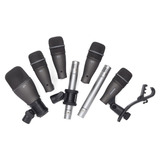 Paquete De Microfonos P/ Bateria, Samson Dk707