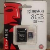Memorias Micro Sd 8 Gb Nuevas