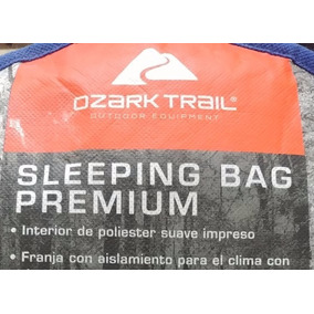 Sleeping Bag Premium Ozark Trail Bolsa De Dormir Pack 2 Pzas