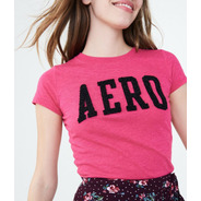 Camiseta Aeropostale Feminina Aero Original Pronta Entrega