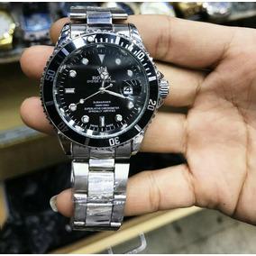 Relógio Masculino Aço Inox Black